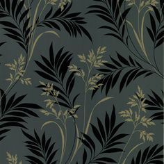 "Found it at Wayfair.ca - Ink 33' x 20.5"" Grass 3D Embossed Wallpaper"