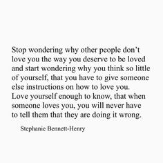 When Someone Loves You, Someone Elses, Dont Love, Love You, Stephanie Bennett Henry, Mind The Gap, Words Of Encouragement, Other People, Thinking Of You