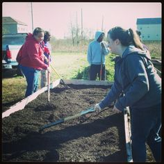 Check out this pic from Tori Snyder, Assistant Director of FSU's Diversity Center. She's part of a group of students, faculty and staff participating in FSU's Alternative Break program in New Orleans over winter break. Today the group helped out at the Charbonnet Gardens in the Lower Ninth Ward. Charbonnet Gardens is a series of urban gardens that are planted on empty lots as part of the Urban Supported Agriculture program. The group left for New Orleans on Jan. 5 and is returning Jan. 13.