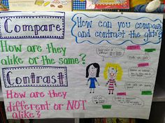Life in First Grade: Some new anchor charts and a CHEAP center idea!