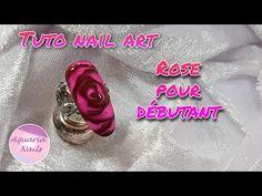 Tuto rose pour débutants | Sharm effect et vsp vitrail - YouTube Aquarium Nails, Rose Nail Art, The Violet, Wedding Rings, Engagement Rings, Floral, Flowers, Blog, New York