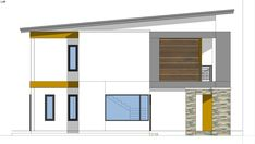 Small Home Design Plan with 3 Bedrooms - SamPhoas Plan Simple House Design, Dream Home Design, Home Design Plans, Granny Flat, Diy Dollhouse, Home Projects, House Plans, Bedrooms, How To Plan