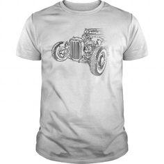 hotrod sketch T Shirts, Hoodie