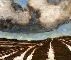 Winter field, 2010, David Königsberg.  I absolutely love this painting!!!!!!!!!!!!!!!!!!!!!!!!!!!!!!!!!!