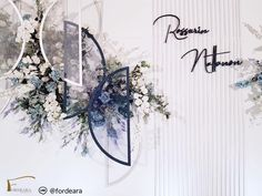 #weddingdecorationthailand #eastingrandhotelsathorn #graphicweddingstyle #weddingreceptionthailand #weddingceremony  #fordeara #fordearaweddings  #minimalwedding #minimalweddingstyle #blueandwhitewedding #backdrop #backdropสีขาวน้ำเงิน #ฉากงานแต่งงาน #ฉากถ่ายรูปงานแต่ง #การแต่งงาน #modernbackdrop Wedding Stage Decorations, Wedding Backdrops, Aisle Runner Wedding, Couple Photography, Pictures, Photos, Couple Pictures, Resim, Clip Art