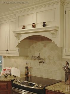 Decorative Arched Range Hood Image Design Ideas Pictures Remodel And Decor Page 20