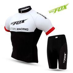 Men s Cycling Jersey Sets 2017 Summer Short Sleeve Bib Shorts Bike Clothing  Breathable Pad Cycling MTB 06c461371