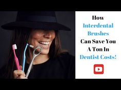 How interdental brushes can save you a ton in dentist costs! Dental Hygiene, Bad Breath, Oral Health, Health Problems, Save Yourself, Brushes, Canning, Youtube, Blush