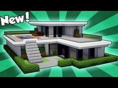 How to build a small easy modern house tutorial small minecraft modern house how to make . modern house tutorial lovely how to build a small minecraft Minecraft Starter House, Minecraft House Tutorials, Minecraft Houses Survival, Minecraft Plans, Minecraft House Designs, Minecraft Tutorial, Minecraft Mods, Youtube Minecraft, Minecraft Creations