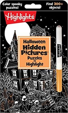 This Halloween activity book is a trickandtreat, combining the fun of coloring with highlighters and the enduring popularity of Hidden Pictures puzzles. Every intricate themed seek-and-find puzzle offers the opportunity to see the hidden objects in a new … Read More...