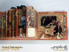 ILoveMeBookandToteBagGraphic45 Safari Adventure  by Yumi Muraeada Product by…