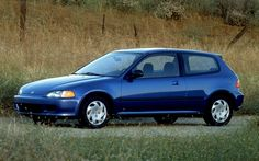 1992 Honda Civic Si - It may not look like much but there was a good amount of engineering and it was a lot of fun to drive.