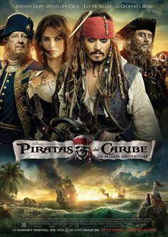 ver Piratas del caribe 4 mareas misteriosas 2011 online descargar HD gratis español latino subtitulada