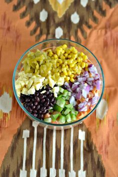Don't serve the same old pasta salad...make it new again with this Mexican Pasta salad recipe