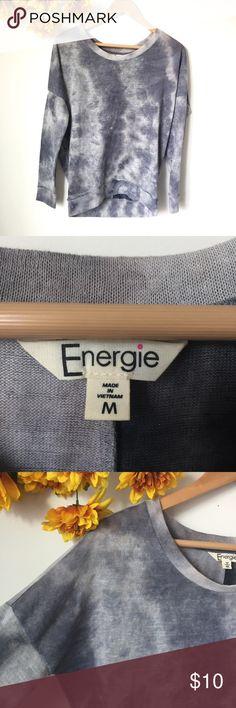 EnergieTie Dye Sweatshirt Lightweight Sweatshirt. Good condition. Size Medium (juniors) Energie Tops Sweatshirts & Hoodies