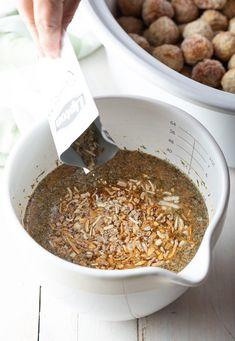 Best Easy Swedish Meatballs (Crockpot & Instant Pot) - Frozen meatballs make these savory, tender Swedish Meatballs an effortless recipe! #swedishmeatballs #crockpot #slowcooker #instantpot #meatballsrecipe #aspicyperspective Swedish Meatballs Crockpot Easy, Swedish Meatball Recipes, Crock Pot Meatballs, Bratwurst Recipes, Crockpot Recipes, Meatballs And Gravy, Sausage Bread, Homemade Guacamole, Instant Pot