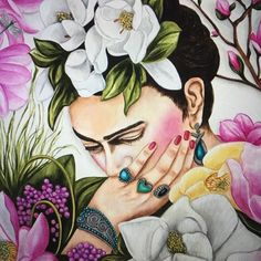 New Frida Kahlo 110th Birthday Special Edition Fine Art Print - Thoughts of My Life - Frida Kahlo by k Madison Moore Available now in my shop