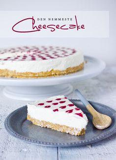 Perfect cheesecake - so easy. Cheesecake Desserts, Cheesecakes, Beautiful Cakes, No Bake Cake, Vanilla Cake, Cupcake Cakes, Cupcakes, Tapas, Cake Recipes