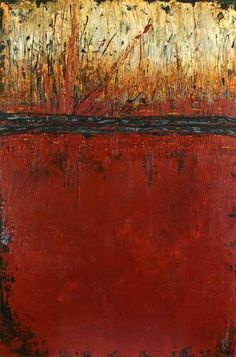 Impressive Abundance  by Patricia Oblack. Acrylic Triptych 48 x 48 inches total.
