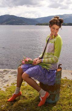 Oleana Norwegian Sweaters, Shell, Top, Silk & Merino Wool, Made in Norway, Solveig Hisdal