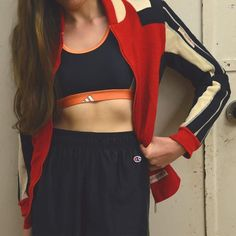 Für den Montag jacket in Sachen Sport(-Outfit) reichen ! ( Jacket: 22) #humanasecondhand #humanaberlin