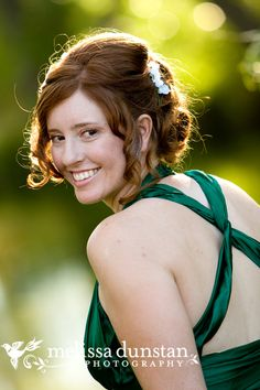 Emerald Green Wedding Dress!