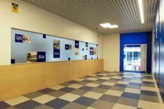 Nueva entrada a oficinas por la calle aribau en Edificio David #Barcelona