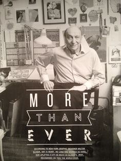 Milton Glaser - Graphic Design Hero