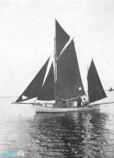 arkiv.dk | Christian Rosenlysts drivkvase. Ca. 1920, Munkebo Lokalhistoriske Arkiv.