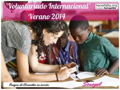 Voluntariado Internacional - Senegal. Imagen de Cineastas en Acción