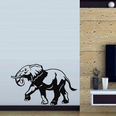 Wall Decal Art Decor Decals Sticker Elephant Animal Asia Africa India Indian Proboscis (M134) DecorWallDecals http://www.amazon.com/dp/B00FVSLW5S/ref=cm_sw_r_pi_dp_Px-Xub0T9K4A4