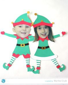 Elf Yourself Christmas Craft