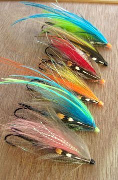 Tube Flies for Salmon and Steelhead