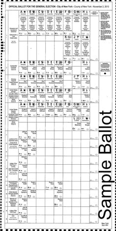 California ballot, 2008 general election | Ballot design | Pinterest
