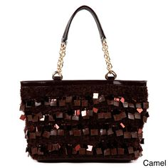 78b19b4318 Nicole Lee 'Raven' Sequin/ Bead Shopper Bag, Women's Nicole Lee Handbags,