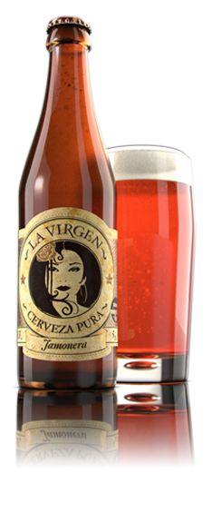LA VIRGEN Cerveza Artesana de Madrid  HAZTE DEVOTO