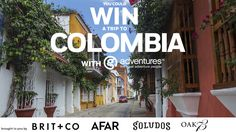 ^^ Enter to win an amazing trip to Colombia!!