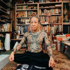 Old Japaneese man with full tattoo tumblr_m6pqhrn9an1qzvrkio1_500.jpg 500×500 pixels