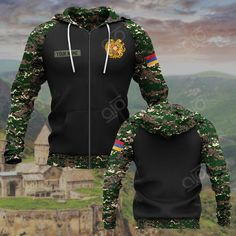 These shirts are custom-made-to-order and handcrafted to the highest quality standards. Each shirt is constructed from a premium polyester blend that is ultra-soft and incredibly comfortable. Features a specialty high definition heat-dye application that ensures long lasting color vibrancy even after machine washing. Army Coat, My Heritage, Armenia, Coat Of Arms, High Definition, Custom Made, Hoodies, Shirts, Color