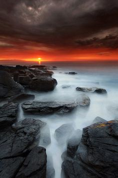 ♂ Amazing nature Portstewart sunset (by Scenic Photography, Amazing Photography, Nature Photography, Photography Tips, Lightning Photography, Photography Equipment, Digital Photography, Wedding Photography, Nature Pictures
