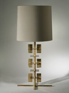 Porta Romana - Antiqued Brass  Stages Lamp