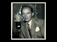 """""""Getting to Know You"""" is a show tune from the 1951 Rodgers and Hammerstein musical The King and I. Performed by Bing Crosby. Movies Box, Bing Crosby, Romantic Songs, Pop Singers, Getting To Know You, You Youtube, My King, Listening To Music, The Beatles"""