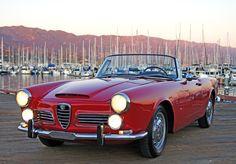 1963 Alfa Romeo 2600 Spyder : Classic Cars