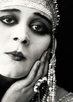 The wistful look of the 1920's