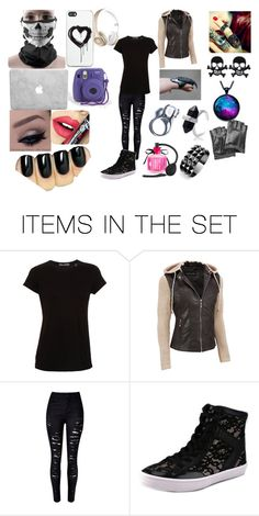 """creepy girl"" by babygirlchelle on Polyvore featuring art and plus size clothing"