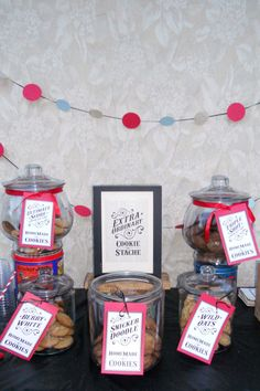 ExtraOrdinary Cookie Bar w/sign and tags by ampersandink on Etsy, $18.00