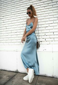 In love with this baby blue dress featuring chic sunglasses from http://www.smartbuyglasses.co.uk/