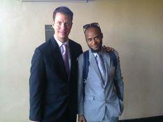 JT Foxx with Siyabonga Sithole.