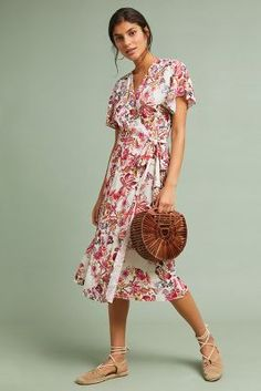 be8b6f1b00b1e Shop the Nora Wrap Dress and more Anthropologie at Anthropologie today.  Read customer reviews,