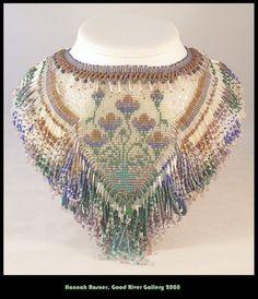 With Regards necklace beadwoven collar OOAK ebwteam. $1,500.00, via ...